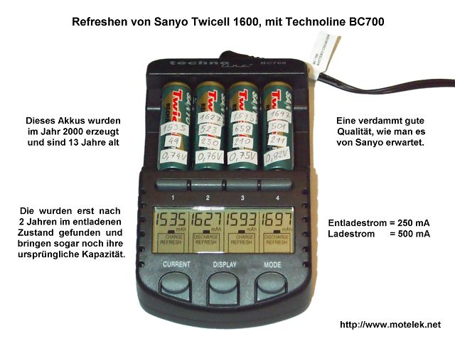Sanyo Twicell 1600