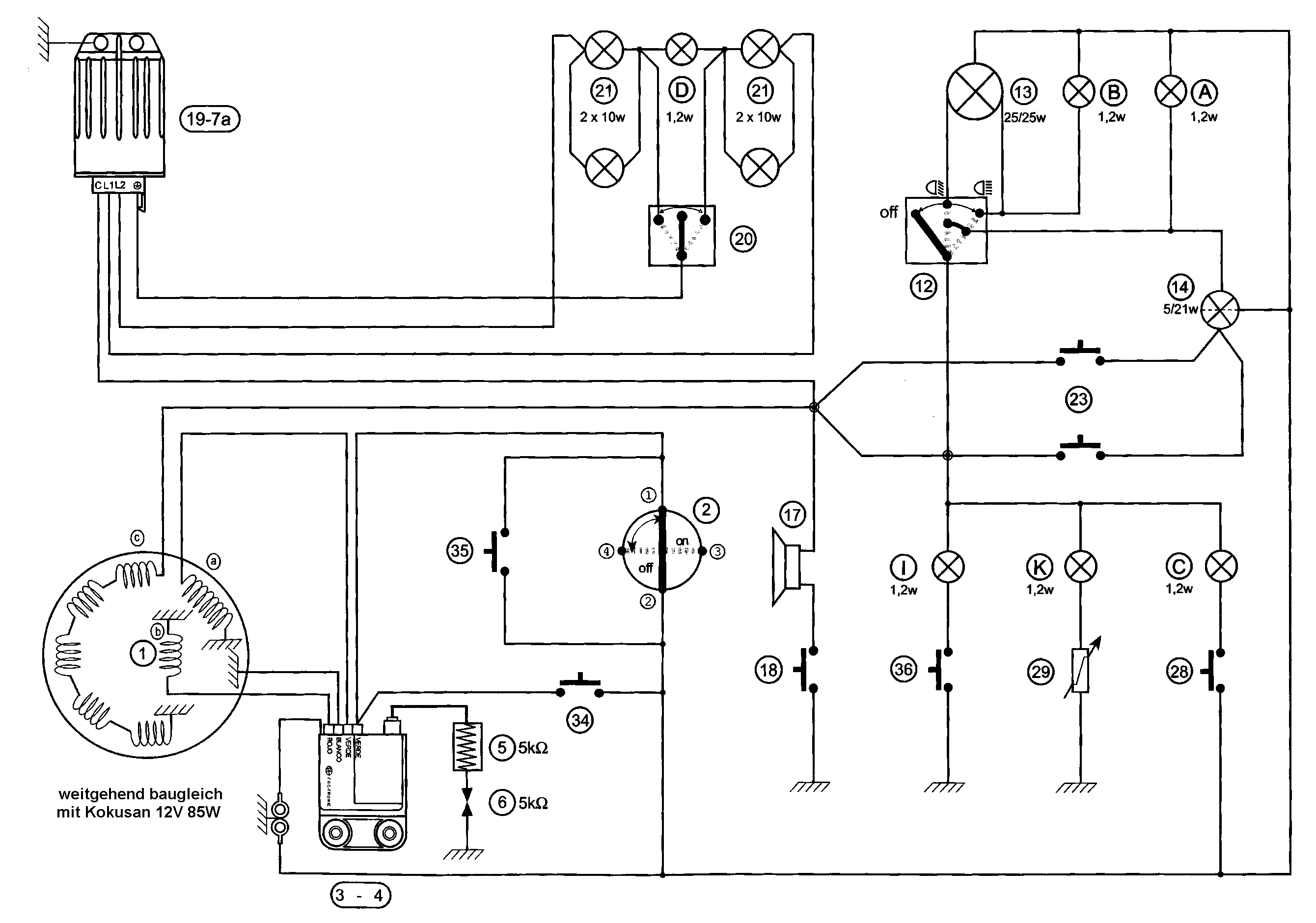 Wiring Diagram Motorhispania And Schematics Aprilia Rs250 Index