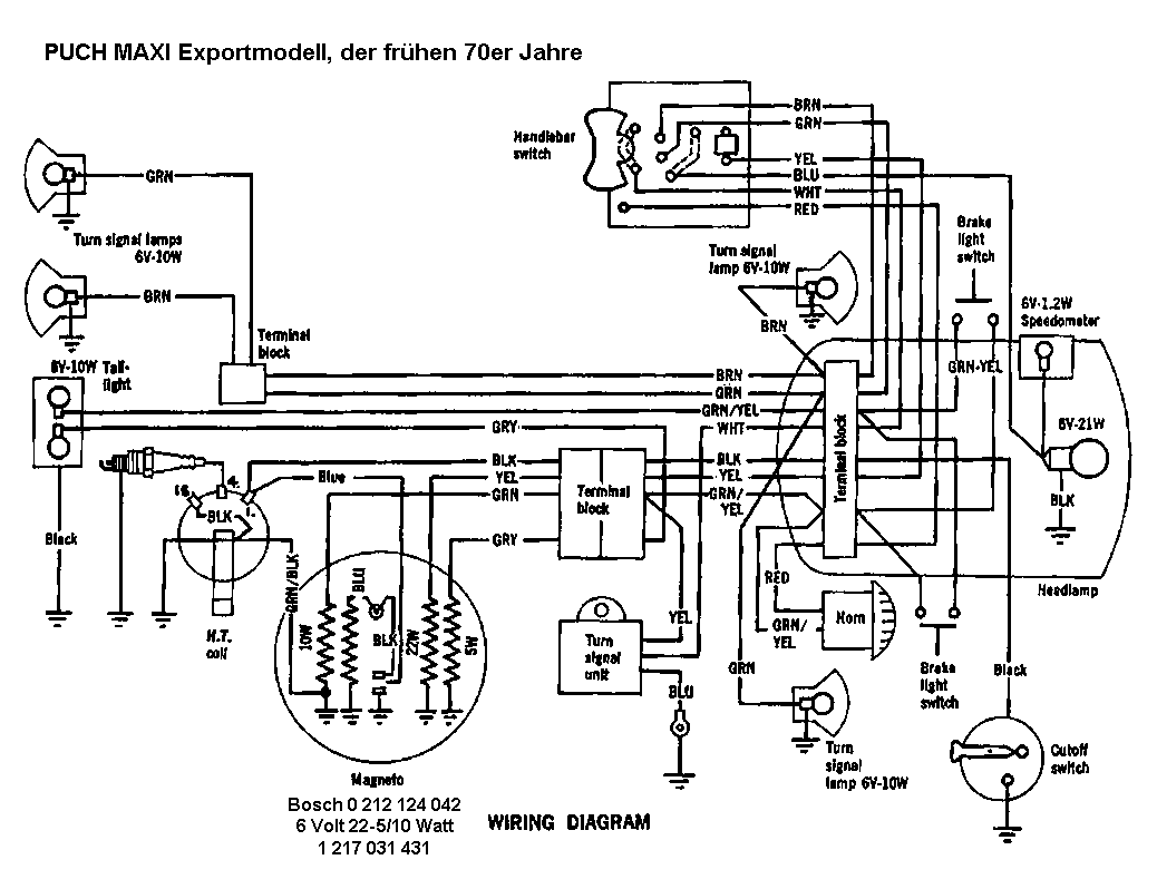 Index Of Schema Puch 1978 Wiring Diagram